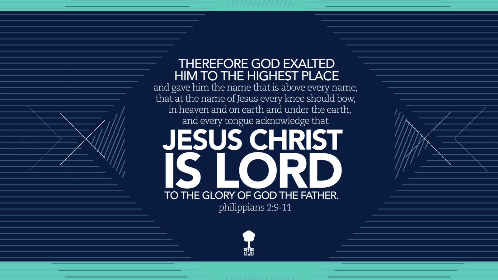 Jesus Christ is Lord (Philippians 2:9-11)