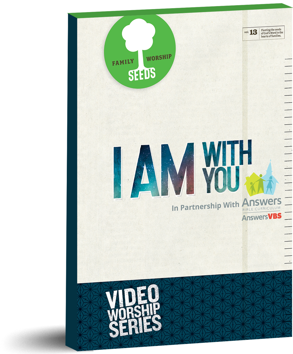 I Am With You DVD or Digital Download (Home)